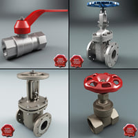 Gate Valves Collection V1