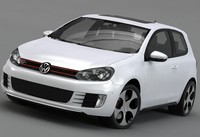 3ds volkswagen golf 6 gti