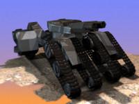 maya tank hover turret
