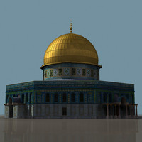 dome rock mosque 3ds