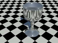 3d model goblet
