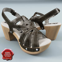 womens sandal dr scholls 3d model