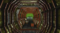 science fiction corridor 3d max