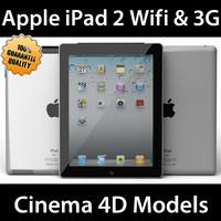 iPad 2 3G & Wifi C4D