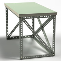 profile table 3d dwg