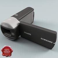 hd camcorder samsung q10 3d model