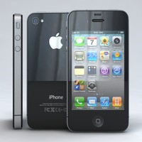Apple iPhone 4, 4S, CDMA Black