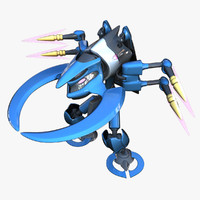 reploid wind 3d model