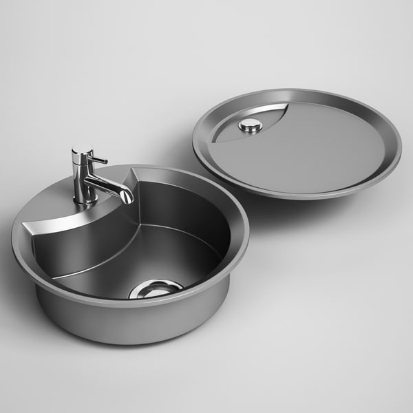 kitchen sink 22 max - CGAxis Kitchen Sink 22... by cgaxis