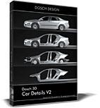 3ds max car 3d: details v2
