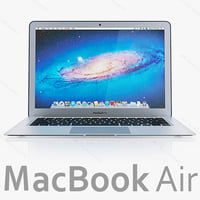 3d model new macbook air