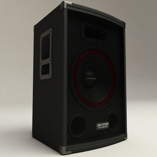 lightwave speakers set coluna - Speakers Collection... by 3d_molier