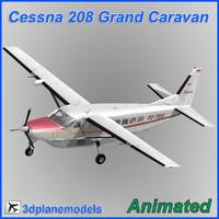 3dsmax cessna 208 caravan grand