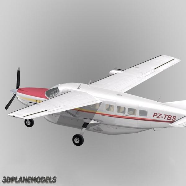Used Turboprop: 3dsmax Cessna 208 Caravan Grand