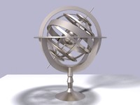 Armillary Nautical Sphere Sundial
