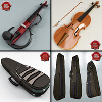 Violins and Cases Collection