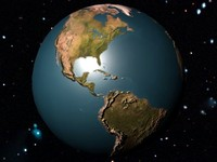 earth maps 3d model