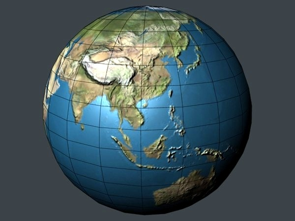 3d earth blender