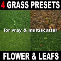 maya grass scatter