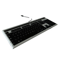 3d model logitech ultrax keyboard