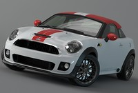 mini coupe 2012 3d model