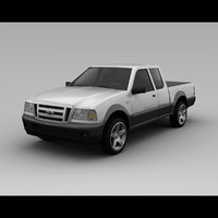 Ford Ranger 2008 - 2 Door Extended Cab