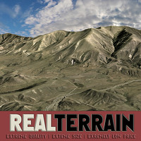 Real Terrain: High-Country Hills (40x40km)