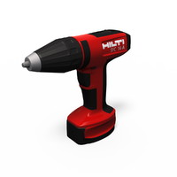 battery screwdriver hilti sfc 3d model