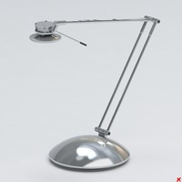 3d model lamp office
