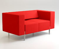 pio office sofa 3d 3ds