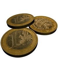 1 euro slovakia 3d max