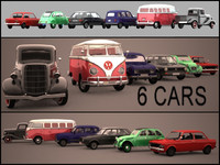 - Old Vintage Cars Collection -