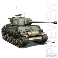 M4A3E8 HVSS Sherman - Easy Eight