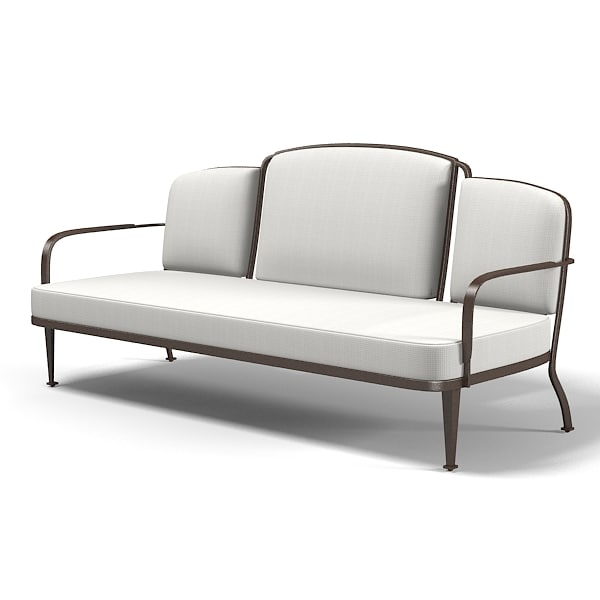 Mcguire Belmont Outdoor settee sofa Barbara Barry art deco bb-13 furniture.jpg