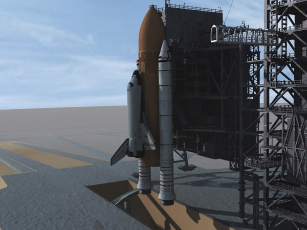 3ds max nasa space shuttle - Houston Nasa Space Center & Shuttle... by video fx universe