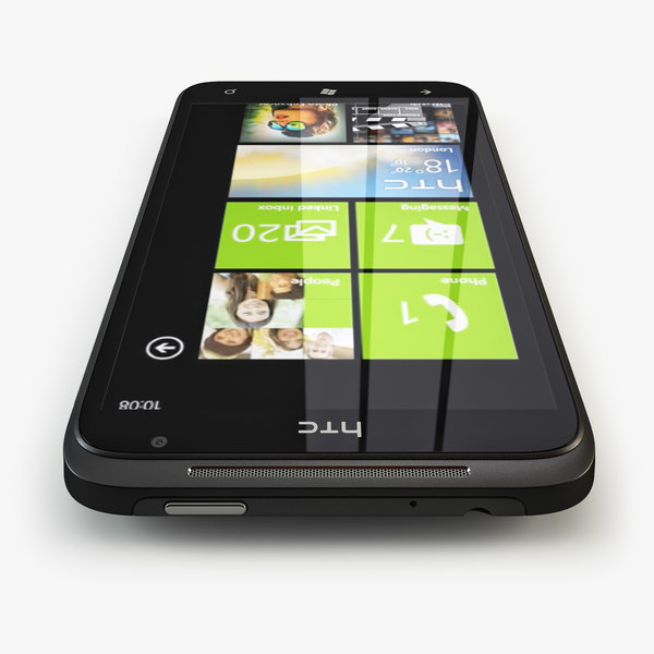3d htc titan model - HTC Titan... by alexander007