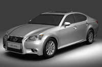 lexus gs350 3d model