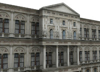 foreign commonwealth building 3d model