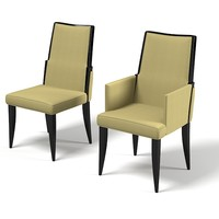 Baker Abrazo 9178 Side Chair dining