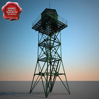guard tower v3 3d model