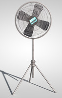 3d model industrial fan