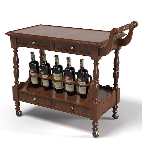 Serving Trolley table traditional classic .jpg