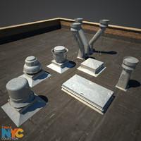 rooftop vent studios max