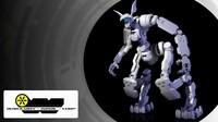 3d droid model