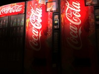 3d coke machine model