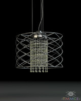 3ds max wire lamp - style