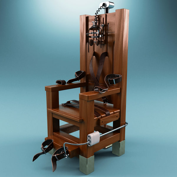 electric chair max - Electric Chair... by 3d_molier