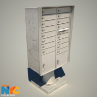 3d large mail box studios