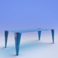 table_Atlas Glass Desk