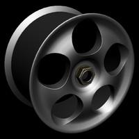 3ds max koenigsegg ccx wheel